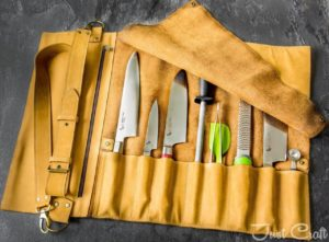 Chef's Knife roll Country (for 6 knives)